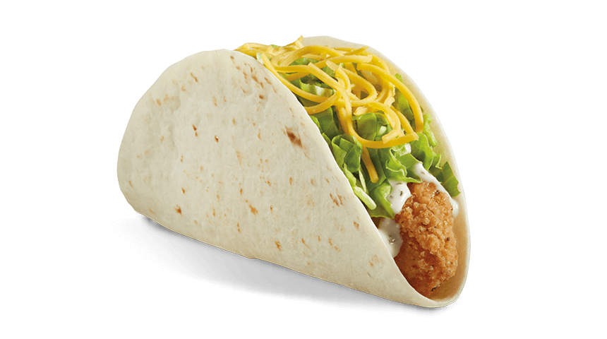 Ranch Crispy Chicken Taco