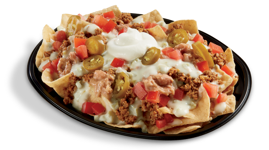 Queso Loaded Nachos