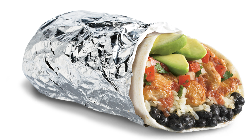 Epic Grilled Chicken Avocado Burrito