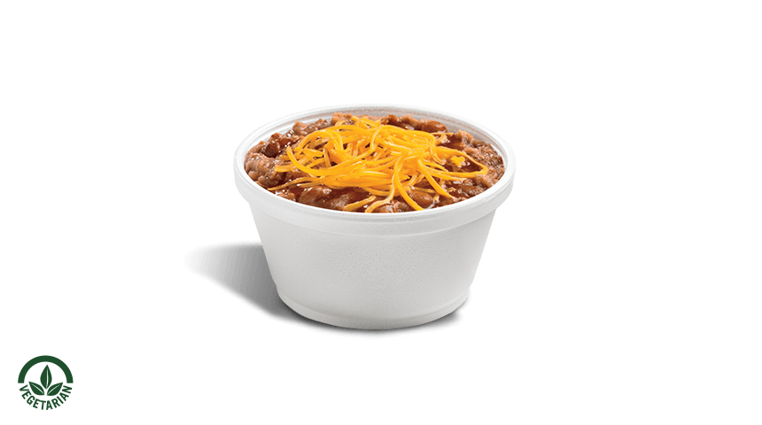 Freshly Made Bean & Cheese Cup