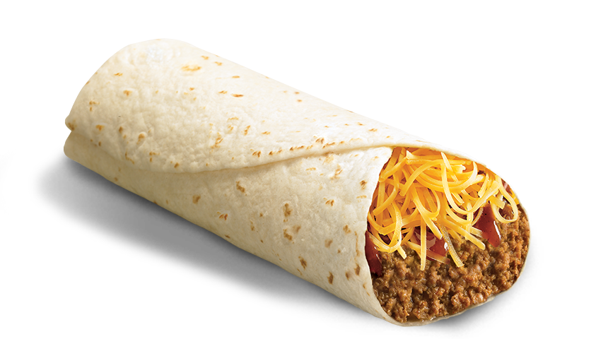 Bean And Cheese Burrito Del Taco Del Taco - Food...
