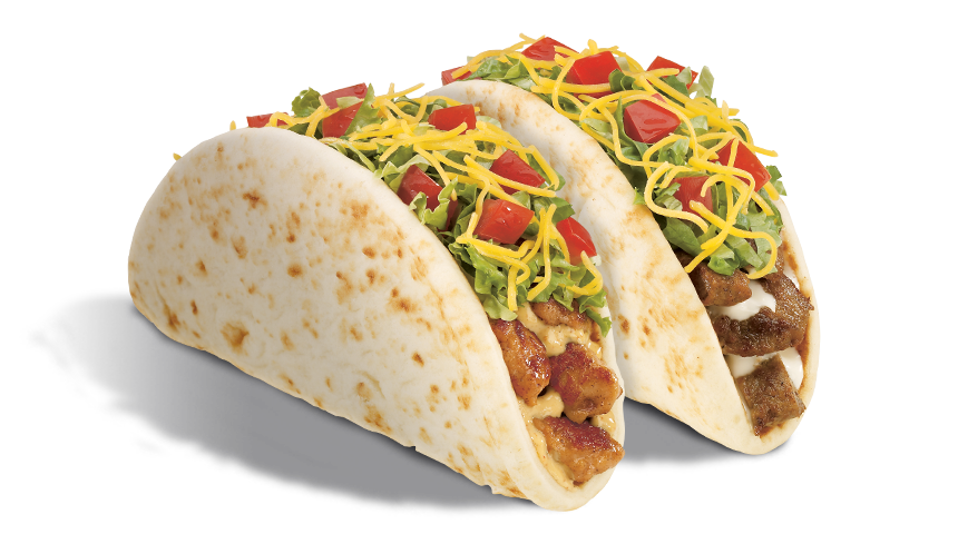 Flatbread Tacos<em>(Chicken or Carne Asada)</em>