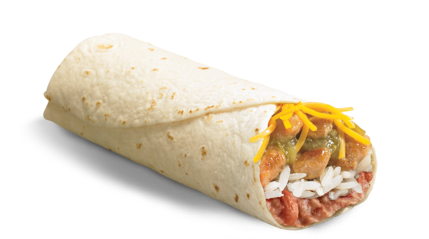 Spicy Grilled Chicken Burrito