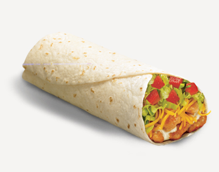 Classic Grilled Chicken Burrito