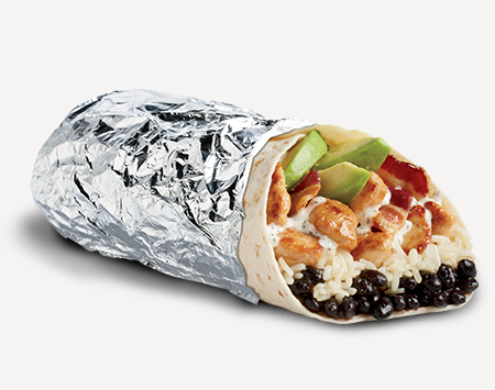 Epic Bacon Ranch Chicken Avocado Burrito