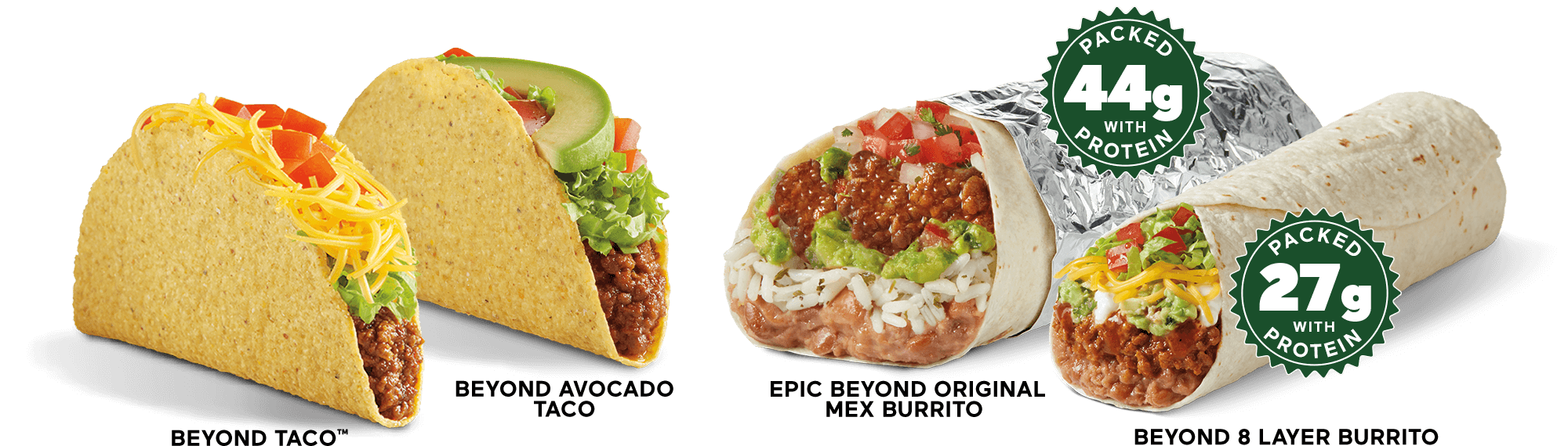 THE FUTURE OF TACOS AND BURRITOS IS HERE
