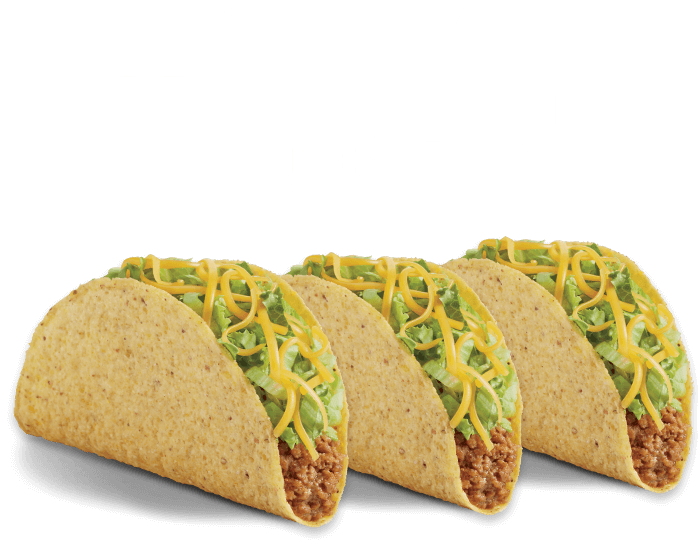 Every Tuesday 3 Regular Tacos $1.29 (mobile heading)